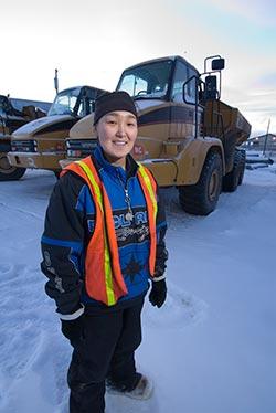Construction trades trainee in Alaska.